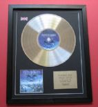 IRON MAIDEN - Brave New World CD / PLATINUM PRESENTATION DISC
